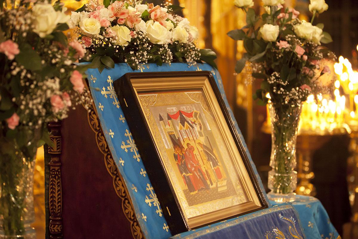 4 декабря Праздник Введения во храм  Пресвятой Богородицы