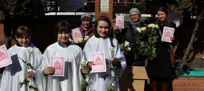 Великая суббота, акция «Белый цветок Пасхи»