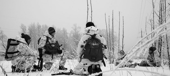 Команда «Преображение» достойно прошла ледяной поход