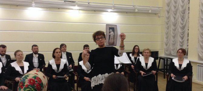 Юбилейный концерт хора «Анфим»