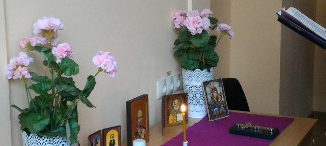 Молебен в ЦССВ «Благодарение»