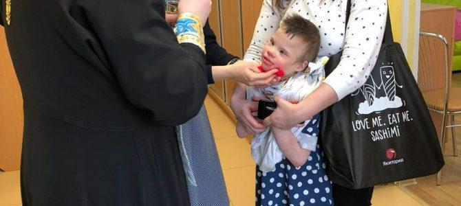 Посещение детей в ЦССВ » Маяк»