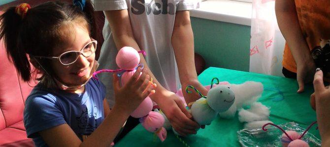 Занятие с детьми в больнице св. Владимира