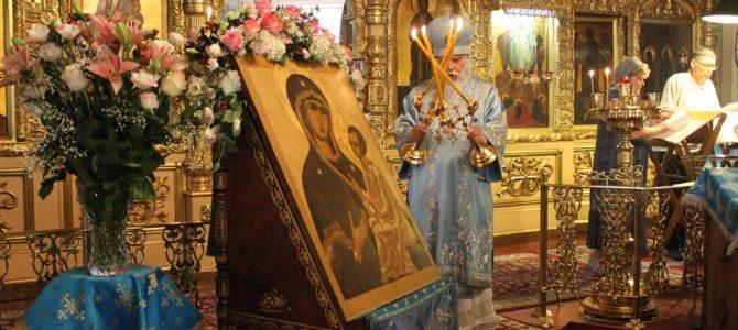 Престольный праздник память Тихвинской иконы Богородицы