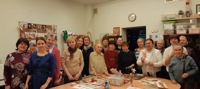 Открытое занятие группы «Московское долголетие»