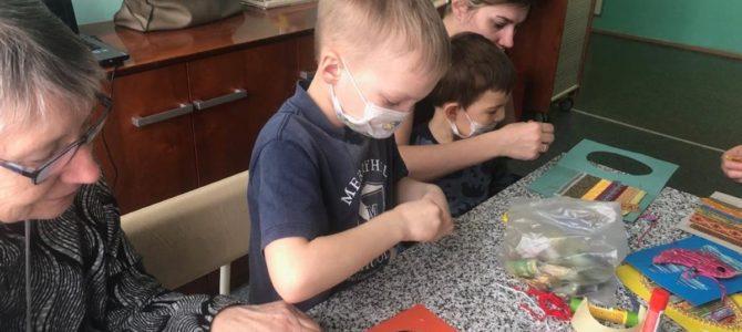 Посещение детей в больнице св. Владимира