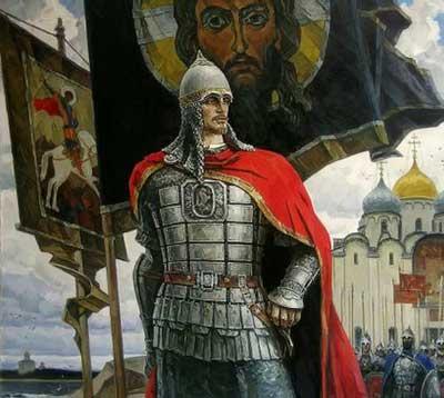 Солнце земли Русской великий князь Александр Невский