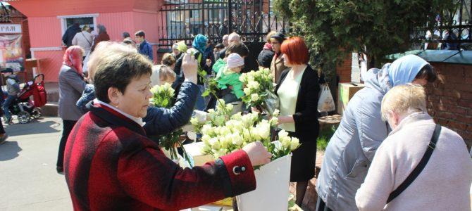 Завершилась благотворительная акция Белый цветок Пасхи