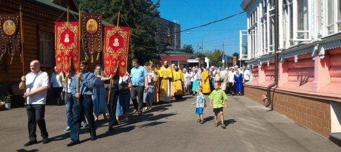 2 августа престольный праздник нашего храма