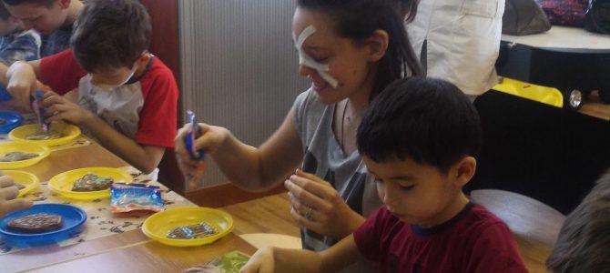 Мастер-класс для детей в больнице св. Владимира