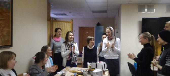 Гости из ЦССВ «Благодарение»