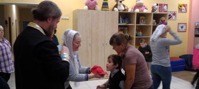 Посещение детского интерната «Маяк»