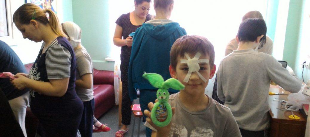 Мастер-класс в детской больнице св. Владимира