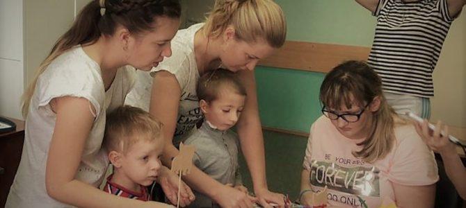 Посещение детской больницы св. Владимира