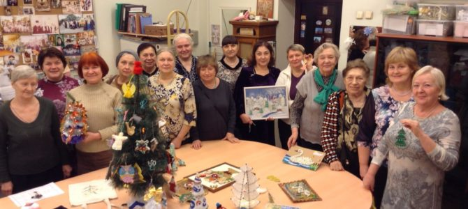 Рождественская встреча для участников «Московского долголетия»